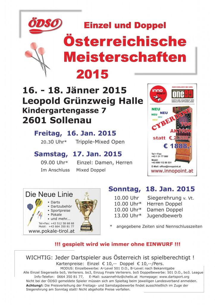 Österreichische Meisterschaft 2015